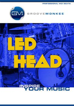 Groove Monkee Led Head MIDI Drum Loops