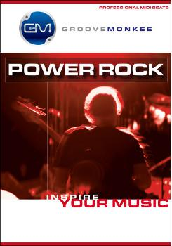Groove Monkee Power Rock MIDI Drum Loops