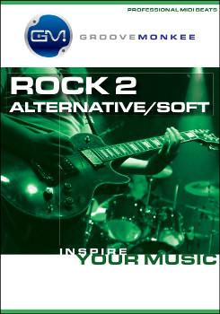 Groove Monkee Rock 2 MIDI Drum Loops