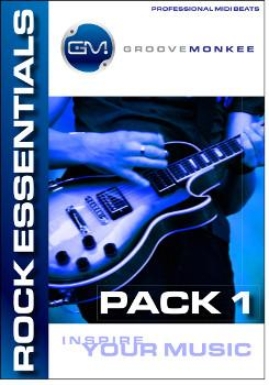 Groove Monkee Rock Essentials 1 MIDI Loops