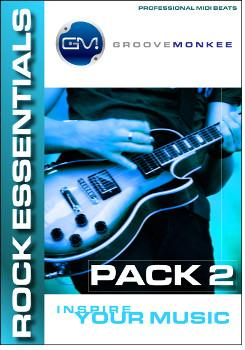 Groove Monkee Rock Essentials 2 MIDI Loops