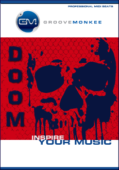 Doom Rock MIDI Drum Loops