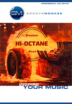 Hi-Octane Rock MIDI Drum Loops