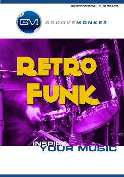 Groove Monkee Retro Funk MIDI Drum Loops