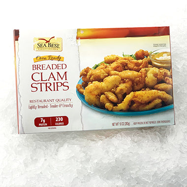 Sea Best Breaded Clam Strips