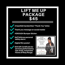 Load image into Gallery viewer, $45 Lift Me Up Package with Hair Artist Antoinette Flores