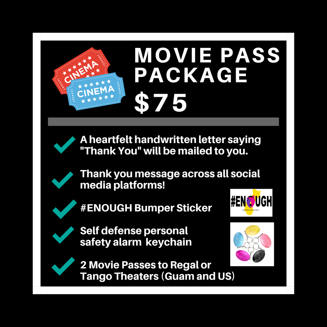 $75 Movie Pass Package