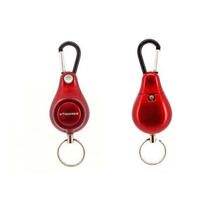 Portable Key Chain For Women Self Defense Alarms Anti-Wolf Pull Point Backpack Pendant Personal Alarm Siren Ring Pull Keyring