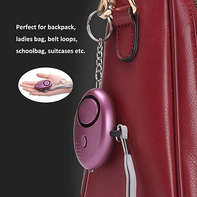 130db Self Defense Personal Alarm Keychain