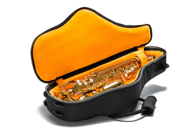 Alto saxophone gig bag with colorful pocket - Orchestra Style