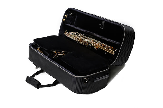 BROPRO Combo case for Alto and Soprano saxophone - Opera Style - W730AS