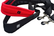 BROPRO Saxophone Neck Strap-Less stress with middle adjusted-Red - ASN23M
