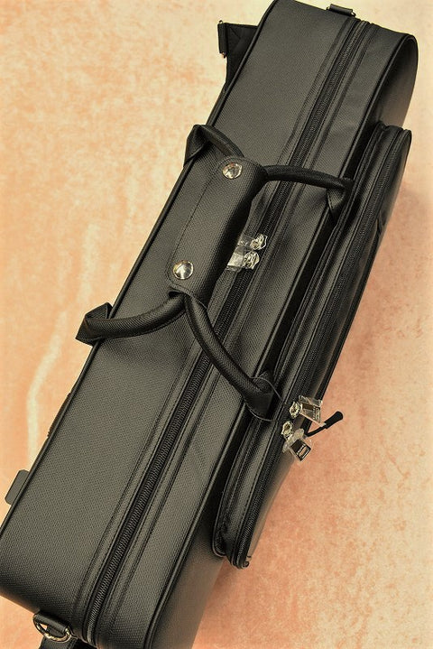 BROPRO Wooden Alto saxophone case with R Frame - Opera Style - W700RP