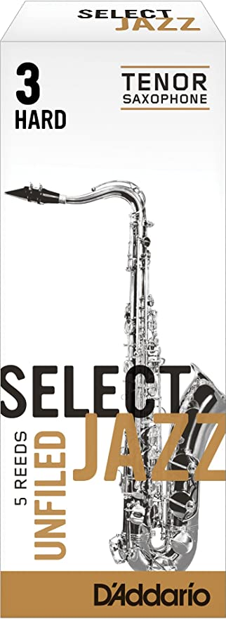 D'Addario Select Jazz Unfiled Tenor Saxophone Reed