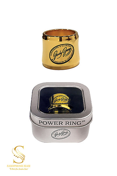 Jody Jazz Power Ring (Gold) Alto Saxophone Hard Rubber