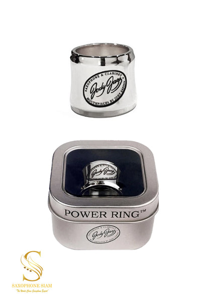 Jody Jazz Power Ring Tenor Metal (Silver)
