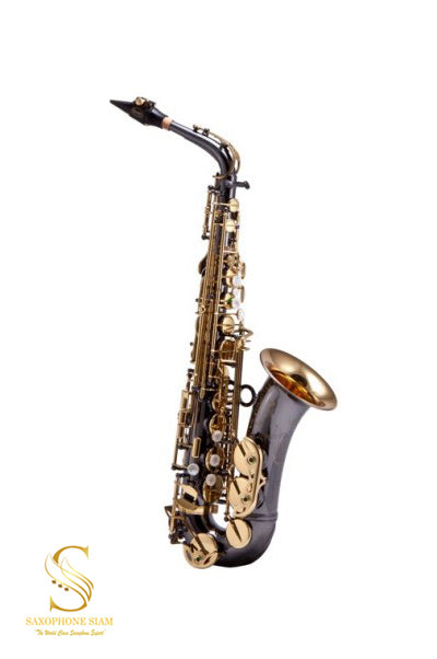 KEILWERTH SX90R JK2400-5B-0 ALTO SAXOPHONE- BLACK NICKEL PLATED