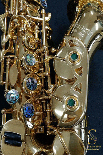 Kenneth KSS-650C Curved Soprano Saxophone