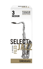D'Addario Select Jazz Filed Tenor Saxophone Reed