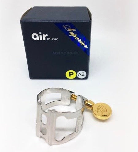 LIGATURE BARITONE SAX AIR MUSIC PATENT 2 PLATINUM PLATED