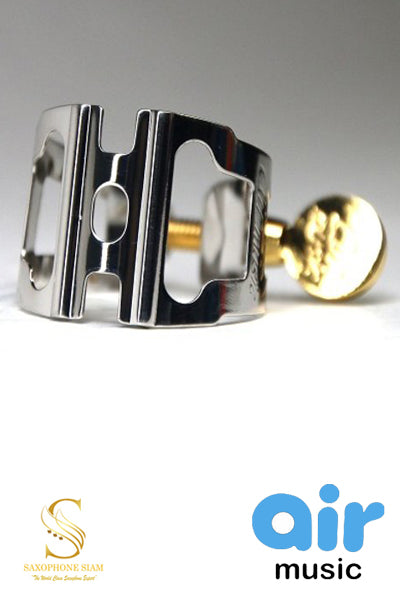 Ligature Alto Sax Air Music Racing Series Platinum plated