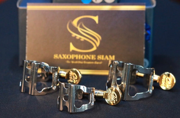 Ligature Soprano Air Music Racing Series Platinum plated