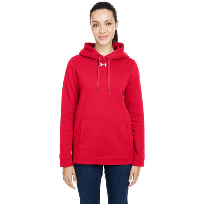 NEW Under Armour Ladies' Hustle Fleece Hoody - Forest River Apparel