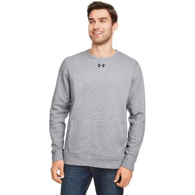 NEW Under Armour Men's Hustle Fleece Crew - Forest River Apparel