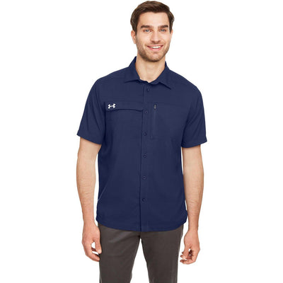NEW Under Armour Motive Coach Button Down - Forest River Apparel
