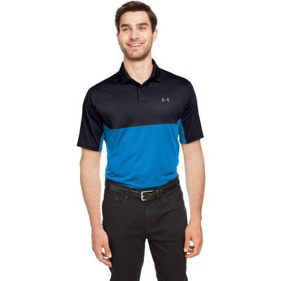 NEW Under Armour Performance Colorblock Polo - Forest River Apparel