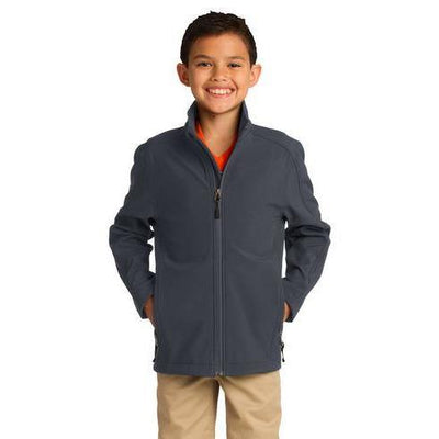 Port Authority® Youth Core Soft Shell Jacket - Forest River Apparel