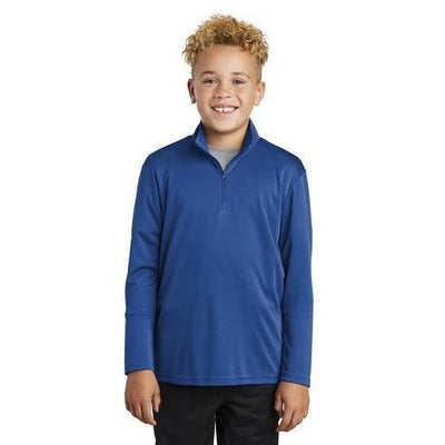 Sport-Tek ®Youth PosiCharge ®Competitor ™1/4-Zip Pullover - Forest River Apparel