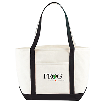 Canvas Boat Tote - Forest River Apparel