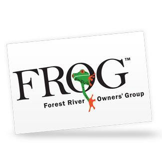FROG Window Decal - Forest River Apparel