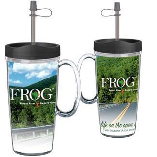 ThermalStar™ Travel Mug With Handle - Forest River Apparel