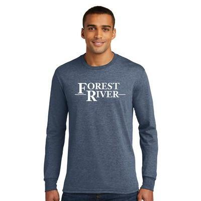 District ® Perfect Tri ® Long Sleeve Tee - Forest River Apparel
