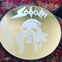 Load image into Gallery viewer, Sodom Logo Hanging Mirror