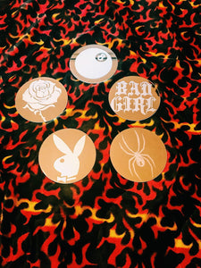 BAD GIRL Mirror Coaster Set