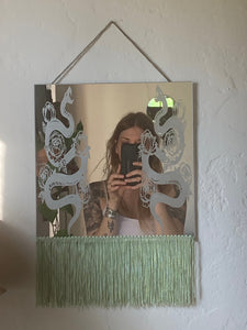 Decorative Snake Mirror