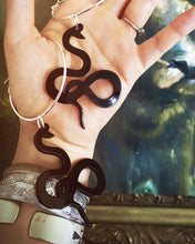 Load image into Gallery viewer, Snake Charmer Hoops