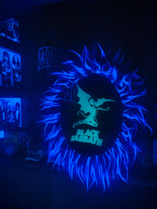 Black Light Sabbath Mirror