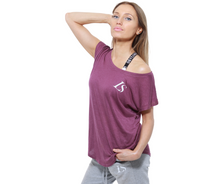 Load image into Gallery viewer, LS Yes I Can Yoga Cap Sleeve T-Shirt