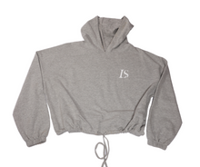 Load image into Gallery viewer, LS Yes I Can Cropped Hoodie