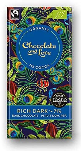 Chocolate & Love - Organic Rich Dark Chocolate Bars