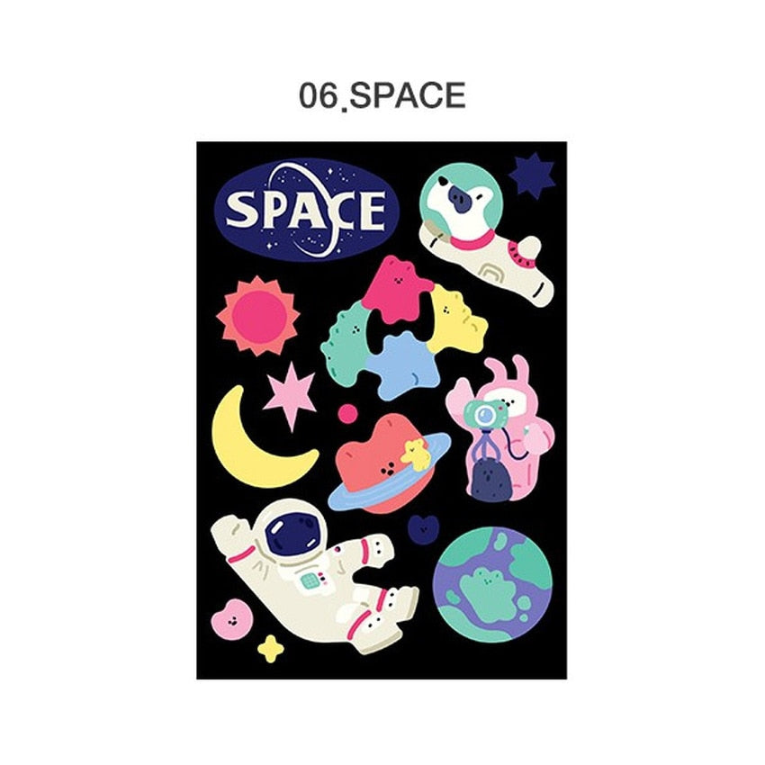 Merry Removable Sticker / Space