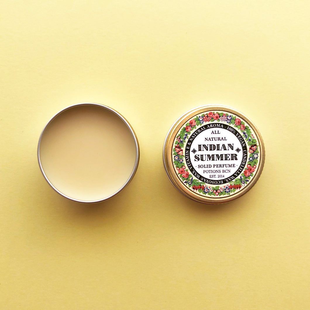 Perfume sólido / Solid Perfume by Potions: Indian Summer Fragrance