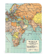 Load image into Gallery viewer, Cavallini 3 mini notebooks vintage maps