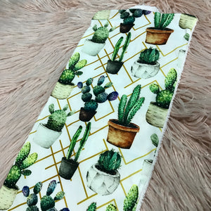 Cactus Love Burp Cloth