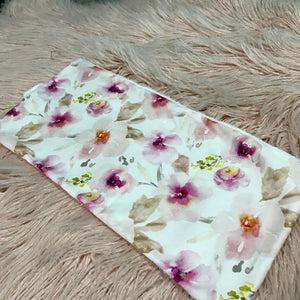 Blush Pink Burp Cloth