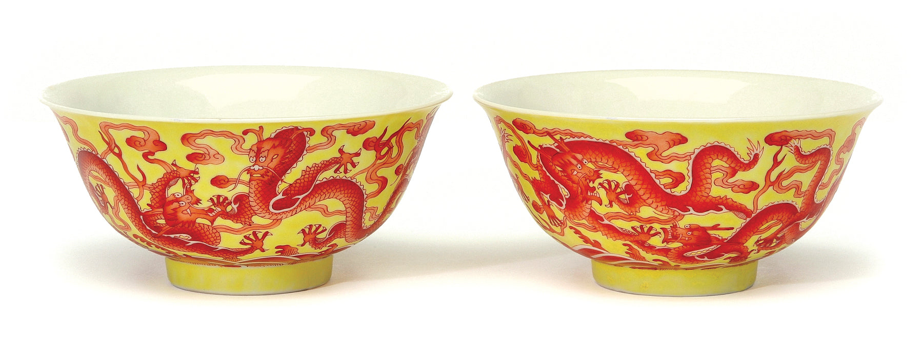 Chinese Yellow Bowls